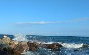 Ostsee bei Brodau - Ostwind
