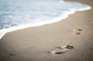 Bei Trauer geht es manchmal nur Schritt für Schritt weiter